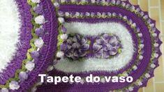 ♥ Jogo De Banheiro em Crochê - Tapete do Vaso por Annearts Crochêt ♥