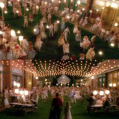 """Visual aesthetics from the hidden town of Spectre in the film """"Big Fish"""". Film Big, Film Movie, Big Fish Movie, Lightning In A Bottle, Fishing Wedding, Tim Burton Films, Wedding Movies, Visual Aesthetics, Carnival Themes"""