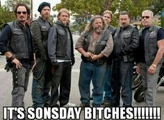 IT'S SONSDAY BITCHES!!!!!!!