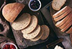 A towering no-knead white bread. Rye Bread Recipe King Arthur, Sourdough Rye Bread, Harvest Bread, Rye Bread Recipes, Peasant Bread, Easy Bread, Instant Yeast, Bread Baking, Casserole Dishes