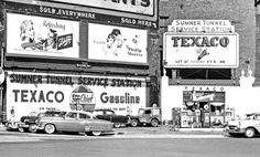 """TEXACO Sky Chief Gasoline at 27-Cents """"For Those Who Want The Best"""" 