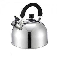 7. Maxware Whistling Stainless Steel Tea Kettle