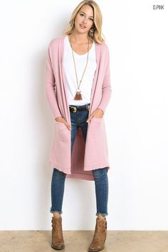 Cozy Oversized Cardigan (Several Colors)