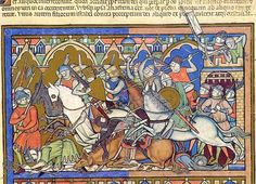 The Morgan Bible (The Pierpont Morgan Library, New York, Ms M. also called the Crusader Bible or Maciejowski Bible, Medieval Manuscript, Medieval Art, Medieval Fantasy, Illuminated Manuscript, History Medieval, Medieval Knight, Medieval Times, Renaissance Art, Le Jour Le Plus Long