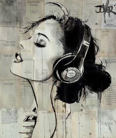 "Saatchi Art Artist LOUI JOVER; Drawing, ""vibrations"" #art"