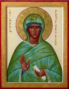 St. Anna the Prophetess by Anna DuMoulin