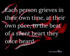 Each person grieves