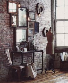 like the mirrors just as an deoration with extra wall space, but might not be a bad idea for something cheap to do with open space at like a wedding reception or something @Melissa Squires Squires Limber
