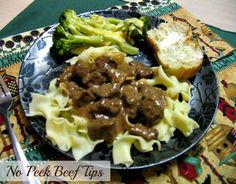 Mommy's Kitchen - Old Fashioned & Southern Style Cooking: No Peek Beef Tips {Amazingly Tender}
