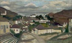 Paisagem de Ouro Preto - Alberto Guignard