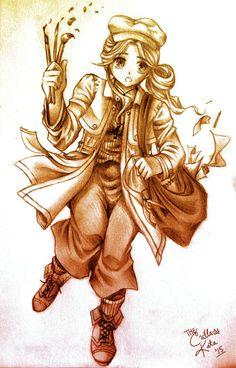 Anime/Manga Traditional Drawing