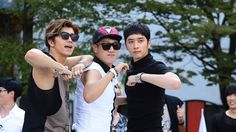 Running Man ♡ Sukjin with 2PM !! Changsung and Wooyoung