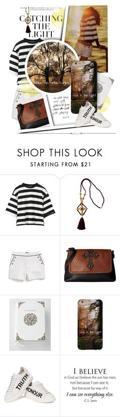 """Living in the Light"" by spicedblossom ❤ liked on Polyvore featuring Jacques Fath, Tommy Hilfiger, M&F Western, Kimberly Wolcott, Alexander McQueen and WALL"