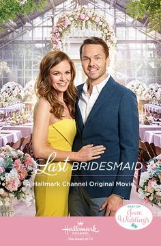 "Its a Wonderful Movie - Your Guide to Family and Christmas Movies on TV: The Last Bridesmaid - a Hallmark Channel ""June Weddings"" Movie starring Rachel Boston & Paul Campbell Hallmark Channel, Films Hallmark, Hallmark Weihnachtsfilme, Family Christmas Movies, Hallmark Christmas Movies, Family Movies, Holiday Movies, Nick Bateman, Men In Black"