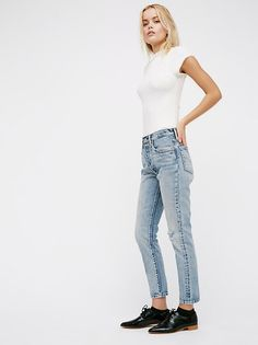 501 Skinny Jeans from Free People!