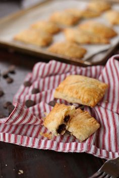6 Ingredient Chocolate Chip and Cream Cheese Hand Pies