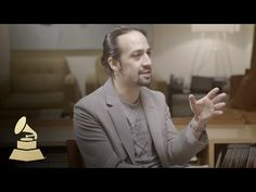 Hamilton Creator Lin-Manuel Miranda | Nomination Interview | 58th GRAMMYs - YouTube