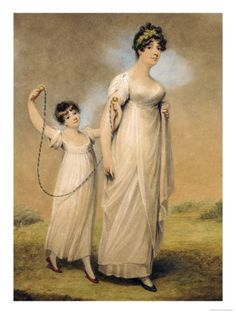 This Adam Buck portrait of a mother and her daughter reminds me of Win's late wife, Harriet, and his daughter Julia.