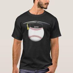 2019 Graduation Baseball Shirt Senior High School Graduation Shirts, Baseball Shirts, High School Seniors, Keep It Cleaner, Shirt Style, Shop Now, Shirt Designs, Mens Tops, T Shirt