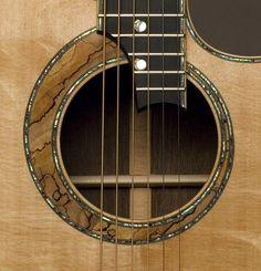 Doolin Guitars Sonic Sitka rosette