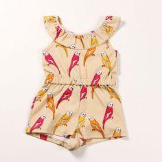 parrot summersuit