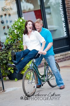 Engagement photography  engagement -bike engagement.  unique wedding photography