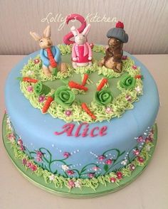 Peter Rabbit Cake Decorations Uk : 1000+ images about Peter Rabbit Cakes on Pinterest Peter ...