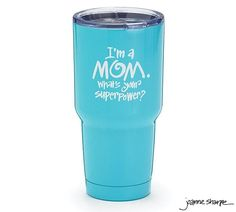 What's Your Superpower Stainless Steel Cup - Large 30 oz.