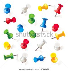 Find Set Push Pins Different Colors Thumbtacks stock images in HD and millions of other royalty-free stock photos, illustrations and vectors in the Shutterstock collection. Cow Vector, Vector Free, Art And Craft Images, Vector Power, Family Vector, Lifebuoy, Gold Picture Frames, Step By Step Drawing, Free Illustrations