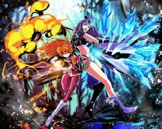 lina_inverse naga_the_serpent s_tanly slayers Strong Female Characters, Anime Characters, Animated Cartoons, Slayer Anime, Anime Artwork, Cartoon Styles, Manga Anime, Character Art, Illustration Art