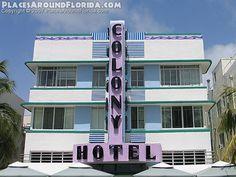Colony Hotel South Beach, Florida