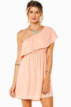 Valenta One Shoulder Dress