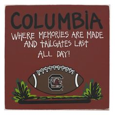 South Carolina Gamecocks Tailgate Sign