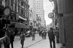 Rua XV de Novembro  Ano: década de 1940  Autor: Hildegard Rosenthal