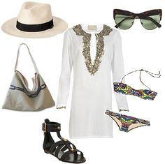 Great day at the beach outfit.
