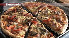 Pizza jak z pizzerii -HIT każdej imprezy! Cooking Recipes, Healthy Recipes, Vegan Pizza, Vegetable Pizza, Food And Drink, Brunch, Yummy Food, Snacks, Meals