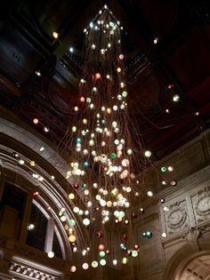 Bocci 28.280: light installation by Omer Arbel at the V&A Museum