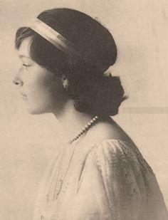 Tatiana Nikolaevna; 1914.
