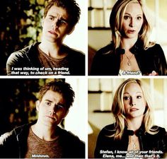 Stefan and Caroline. The Vampire Diaries Season 6 Episode 11. Steroline.