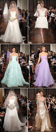 Absolutely inspired 2012 wedding gowns from Romona Keveza