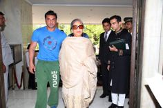 #Bollywood director Sohail Khan along with his family, stayed at the Taj Mahal Hotel, New Delhi.