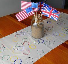 Let the Games Begin! 20 Olympics Party Ideas - Brit Co Office Olympics, Summer Olympics, Olympic Gymnastics, Olympic Games, Gymnastics Quotes, Olympic Crafts, Jordyn Wieber, Shawn Johnson, Early Education