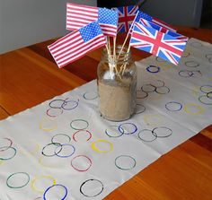 Olympic Table Runner