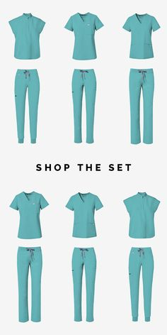 Shop FIGS for comfortable designer scrubs and medical apparel that's awesome. Tons of colors and fashionable styles. Get ready to love your scrubs! Medical Uniforms, Nursing Uniforms, Scrubs Outfit, Medical Scrubs, Fashion Outfits, Fashion Trends, What To Wear, Style Me, Cute Outfits