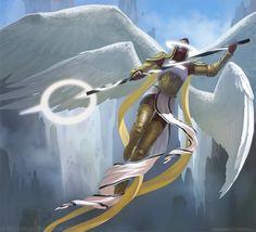 As incríveis ilustrações de fantasia para games de Anastasia Ovchinnikova