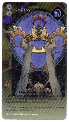 Heresy Kingdom Come CCG Sarim (Michael Kaluta) - Other