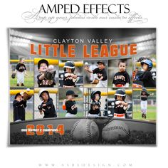 """Amp up your photos with our custom effects. You'll be an instant hit in the market with our """"Amped Effects"""" templates. We have an 8x10 template and a 16x20 poster size template. Perfect for any occasion; be it wedding, family, seniors or sports. #sportphotography #templates #photographytemplates"""
