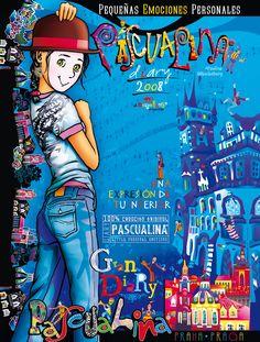 Agenda Pascualina 2008. Comic Books, Comics, Cover, Infancy, Day Planners, Libros, Memories, Art, Comic Book