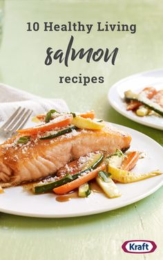 Discover salmon recipes as easy as they are versatile from Kraft Recipes. Baked, grilled or pan-fried, our salmon recipes are sure to please! Healthy Living Recipes, Clean Eating Recipes, Healthy Eating, Diabetic Recipes, Keto Recipes, Salmon Recipes, Pork Recipes, Fish Recipes, Cooking Recipes