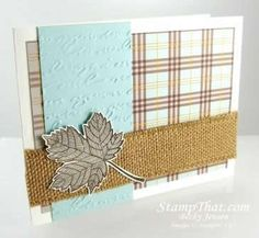 Stampin' Up! Magnificent Maple